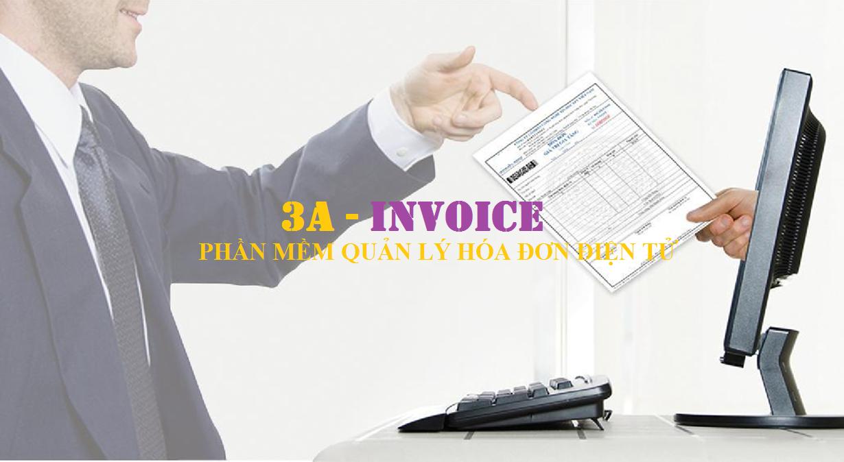 Phần mềm hóa đơn điện tử 3A-INVOICE.